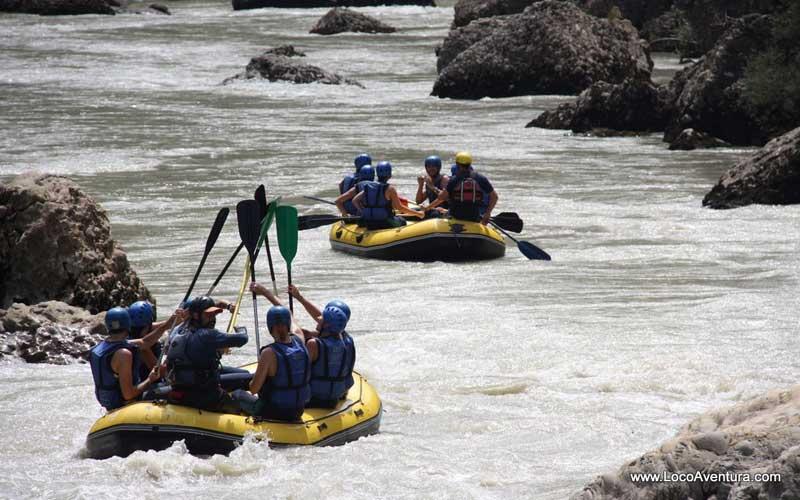 Rafting por el río Esera