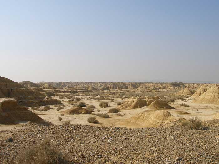Típico paisaje de la zona