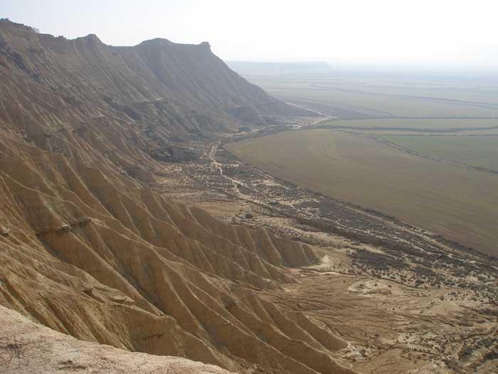 Vistas desde media ladera de la subida a Piskerra