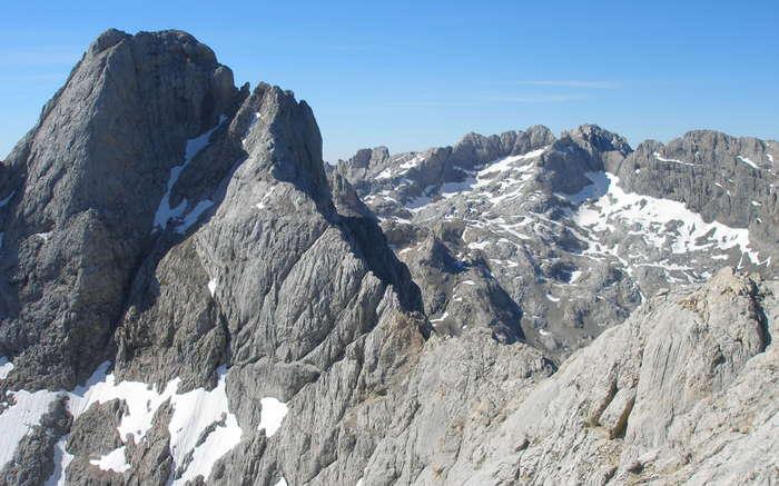 Cresta desde la cima de Cabrones
