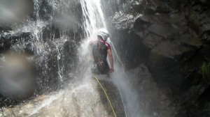 Mojándonos el culo en las Cascadas del Duratón