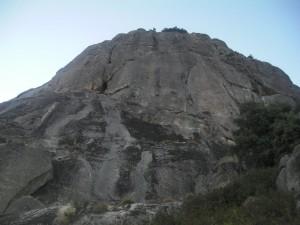 Vía Ezequiel en el Pico de la Miel