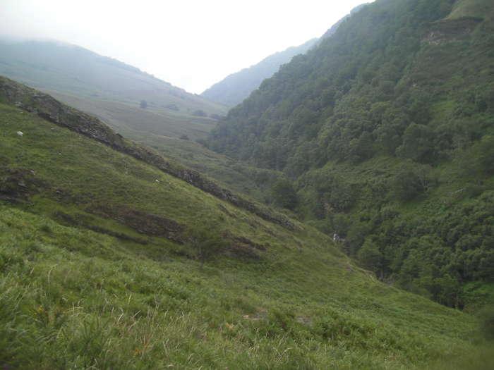 Vista del barranco