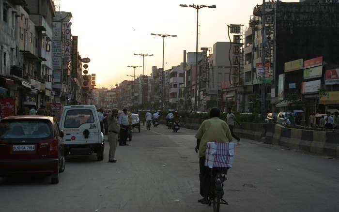 Calle principal de Pahar Ganj
