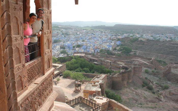 Jodhpur desde el fuerte de Mehrangarh