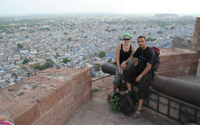 La ciudad azul desde el fuerte de Mehrangarh