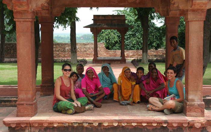 Mujeres multicolor