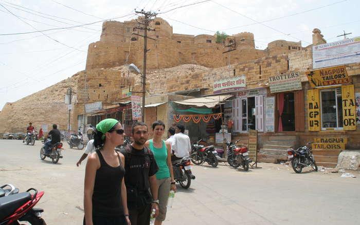 Paseando por Jaisalmer