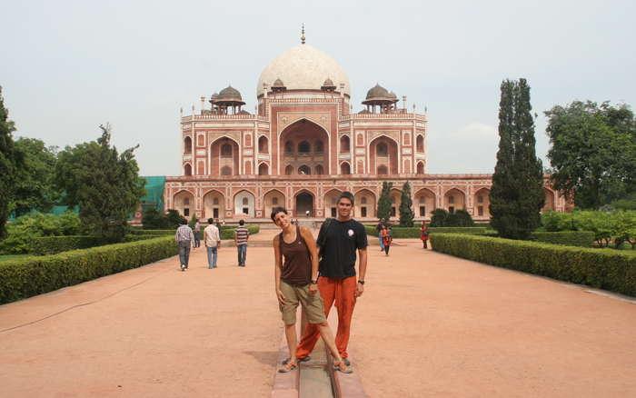 Taj Mahal rojo