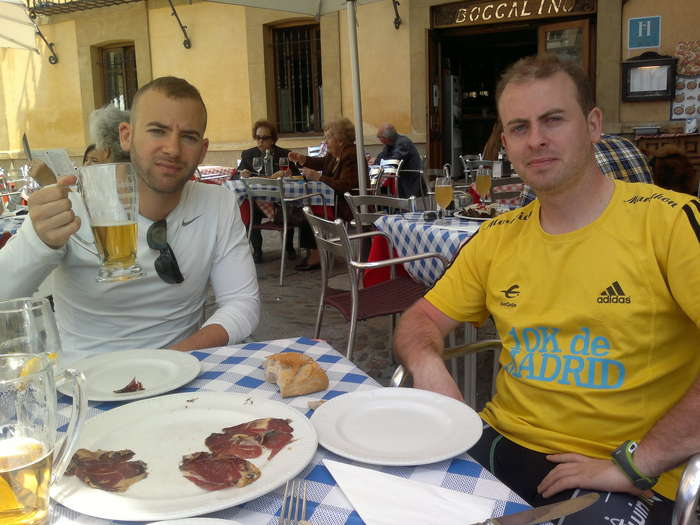 Comiendo en León