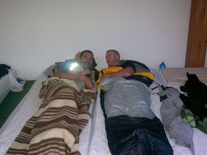 durmiendo en calzadilla de la cueza