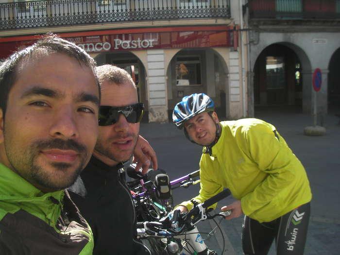 Parada en Villafranca del Bierzo para desayunar