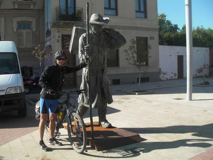 Peregrino en Astorga