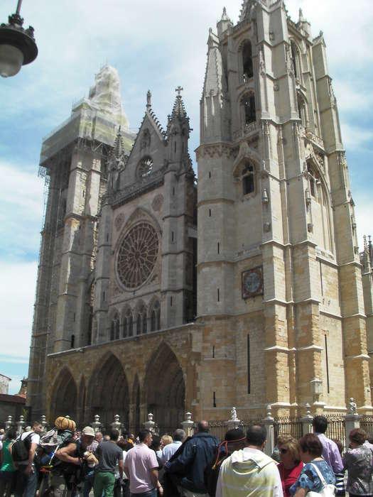 Plano general de la catedral de Leon