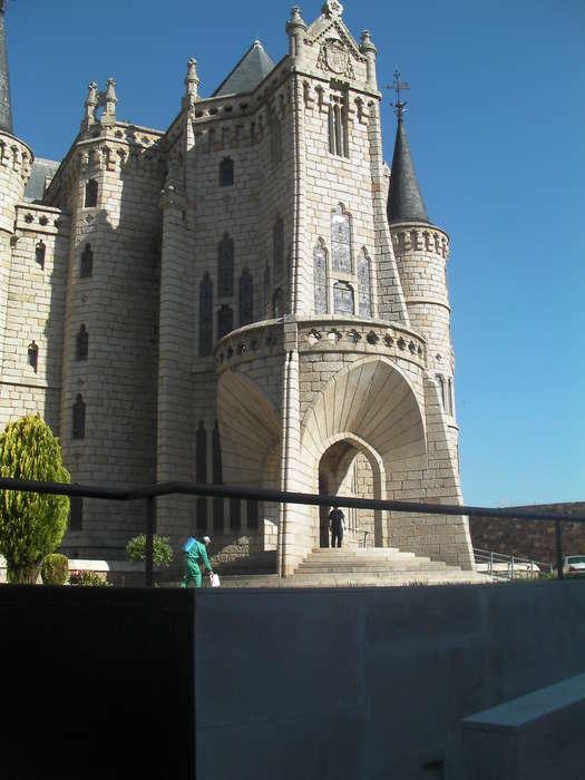 Preciosa iglesia en  Astorga