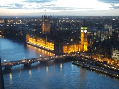 Londres en nochevieja