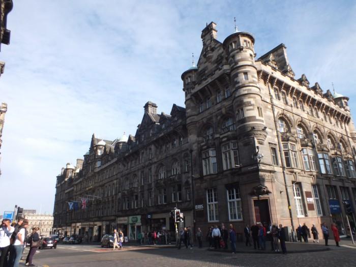 Paseando por el centro de Edimburgo